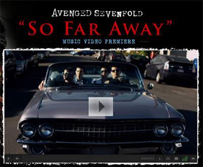 Avenged Sevenfold So Far Away Chords