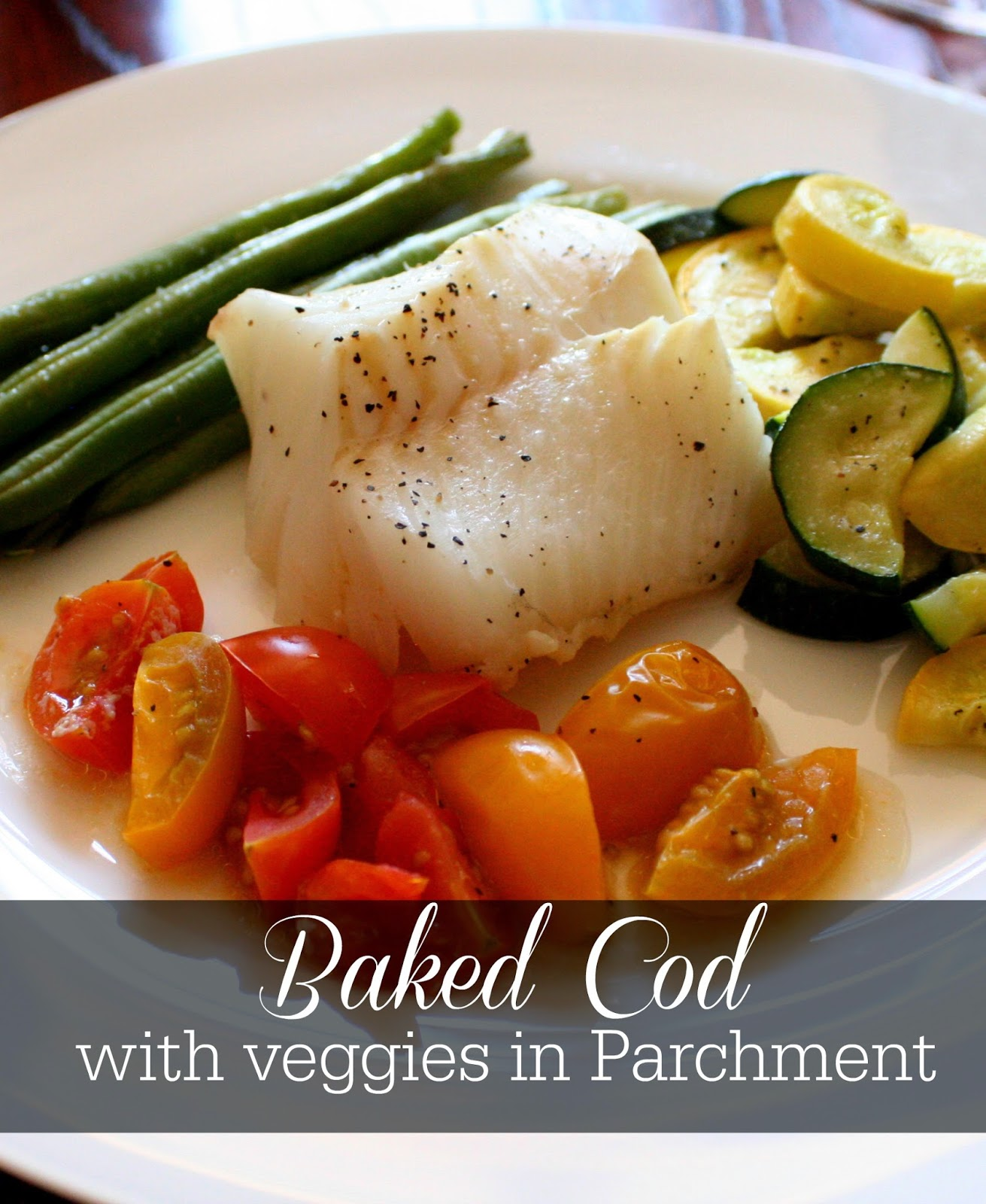 Jordan's Onion: Baked Cod with Veggies in Parchment