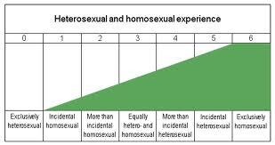 Continuum heterosexual homosexual