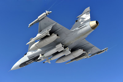Gripen NG fighter ground attack aircraft