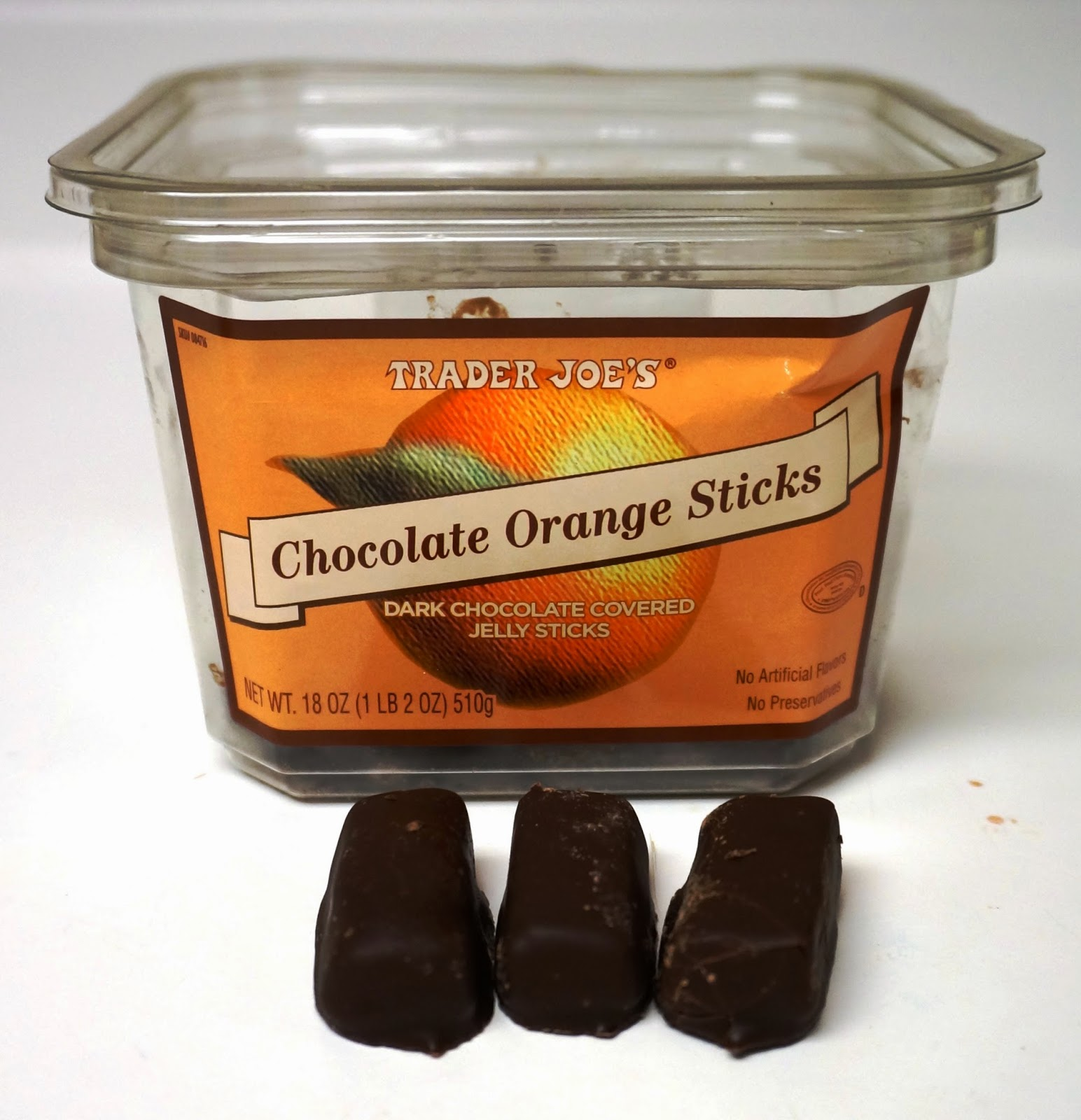 Exploring Trader Joe's: Trader Joe's Chocolate Orange Sticks