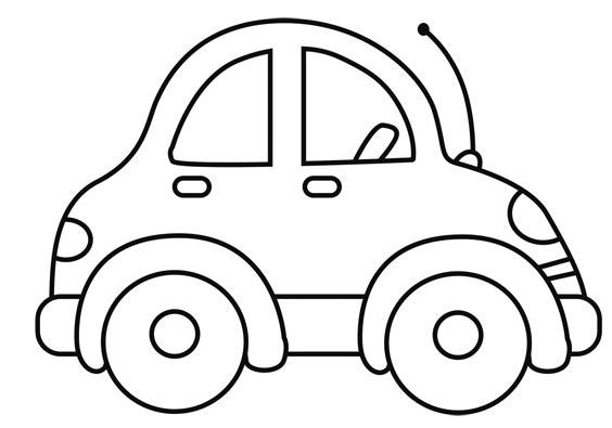 Auto para colorear