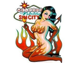 pinup τατουάζ, τατουάζ γυναίκα, γυναίκες τατουάζ, τατουάζ διάβολος, τατουάζ δαίμονας, vegas τατουάζ, αμαρτία-πόλη τατουάζ, τατουάζ γκόμενα, hottie τατουάζ, σέξι τατουάζ, αρκετά τατουάζ