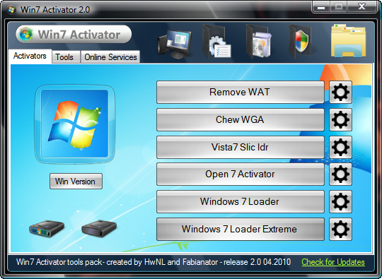 windows 7 activator hal7600