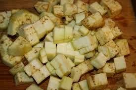 brinjal pieces