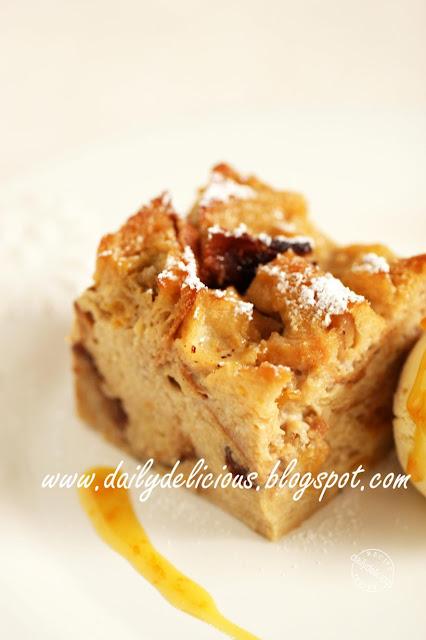 ... Project # 41 : Makeover Bread Pudding, Crêpe Suzette Bread pudding