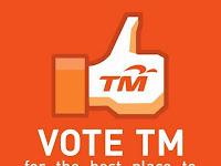 Life At Work Award 2014 - Vote For TM!