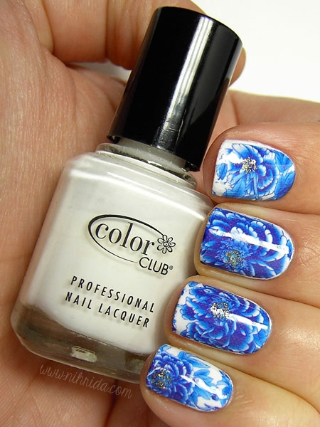 Born Pretty Store Flower Water Nail Decals