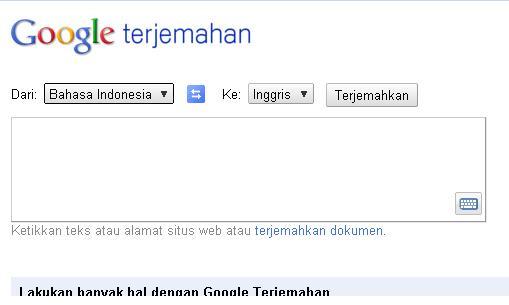 Google Terjemahan Bahasa Sunda Ke Indonesia - Operatorku