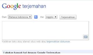 Google Terjemahan