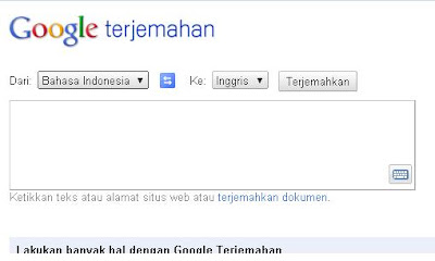 Google Terjemahan | Google Translate | Google Indonesia