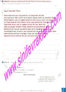 8.Sinif Turkce Enderun Yayinlari Calisma Kitabi Cevaplari Sayfa 29