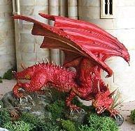 """Montaje de Smaug, el dragón de """"El Hobbit"""""""