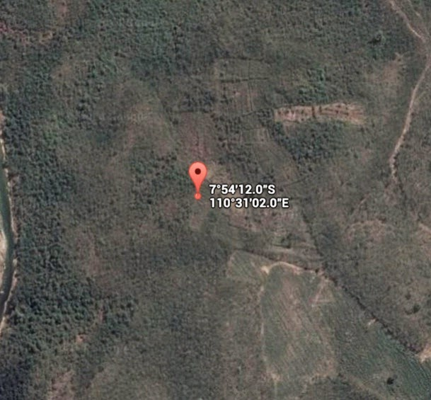 Koordinat Lokasi Hutan Wanagama_siparjo.com