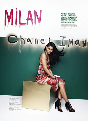 Chanel Iman HQ Pictures Cosmopolitan US Magazine Photoshoot March 2014