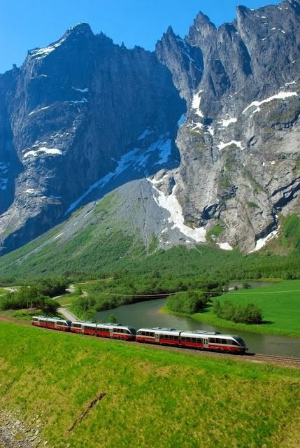 Norway Boasts Spectacular Scenery.