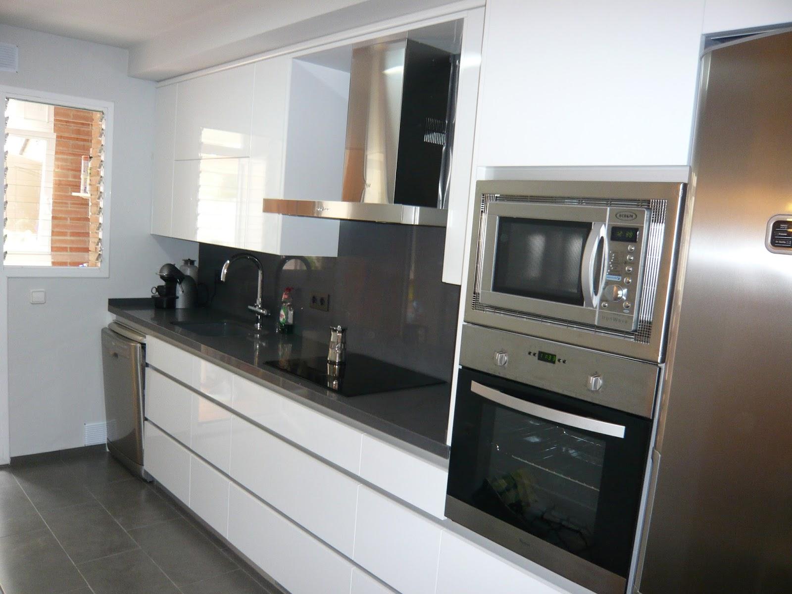 Reuscuina muebles de cocina sin tiradores - Tiradores y pomos para muebles ...