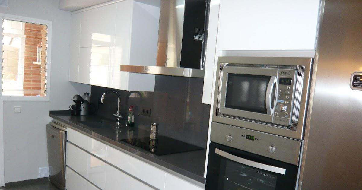 Reuscuina muebles de cocina sin tiradores - Tiradores de muebles de cocina ...