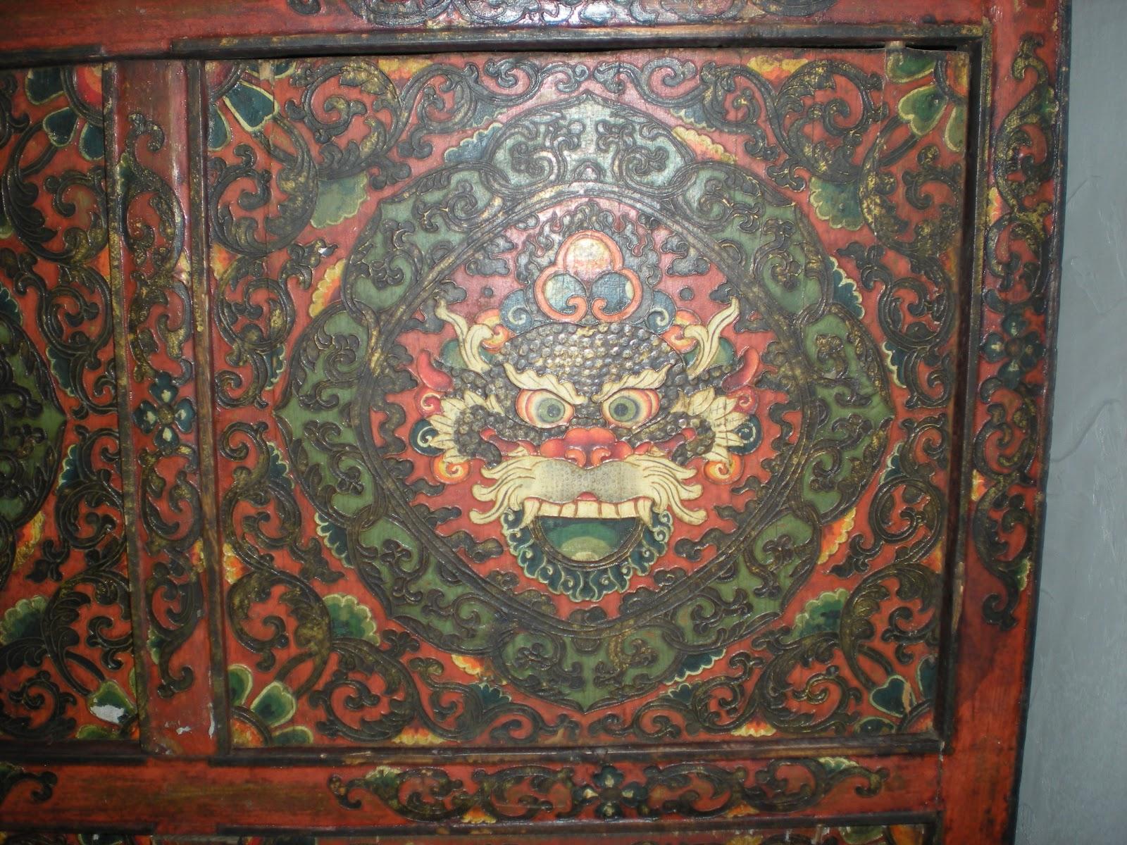 Con Letra G Tica Sobre Demonios Muebles Tibetanos Y Protectores # Muebles Tibetanos
