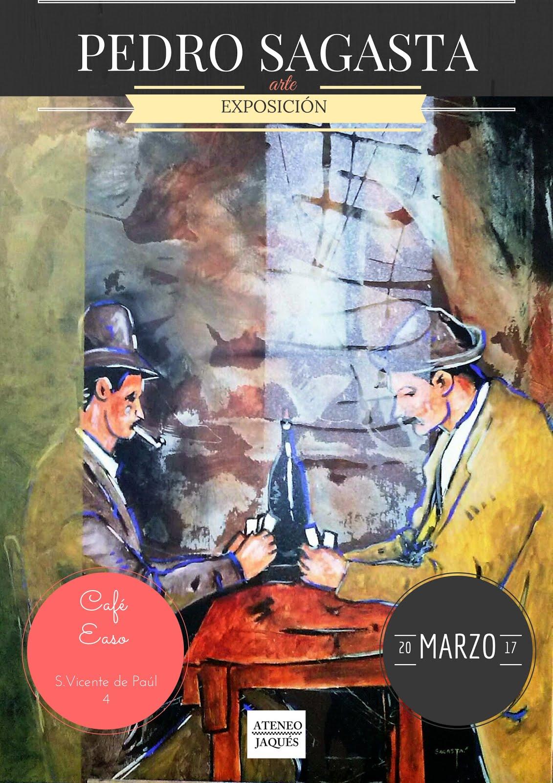 EXPOSICIÓN: Pedro Sagasta en Café Easo