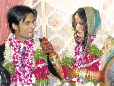 Sania Mirza Wedding Mehndi