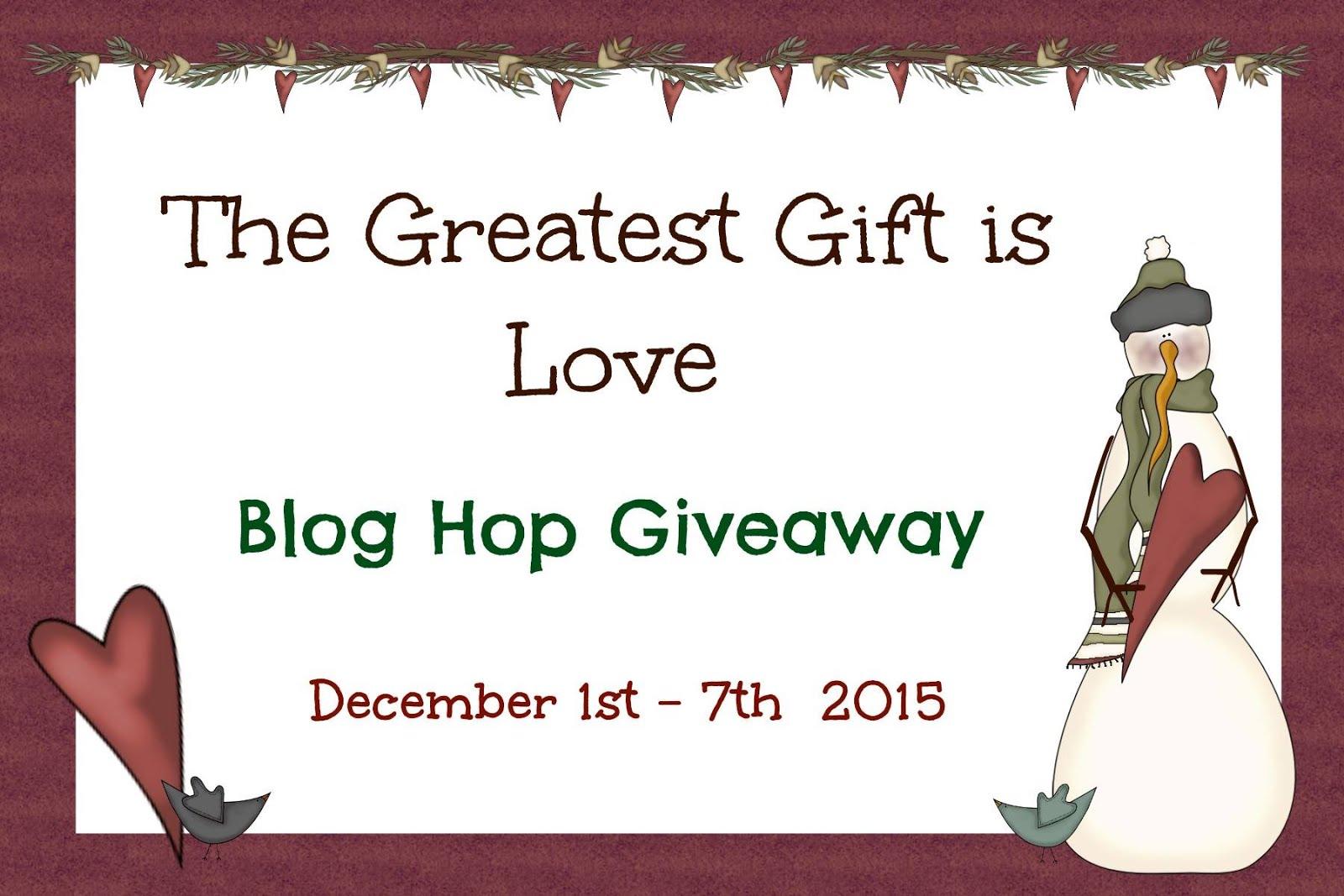 BLOG HOP  GIVEAWAY 2015