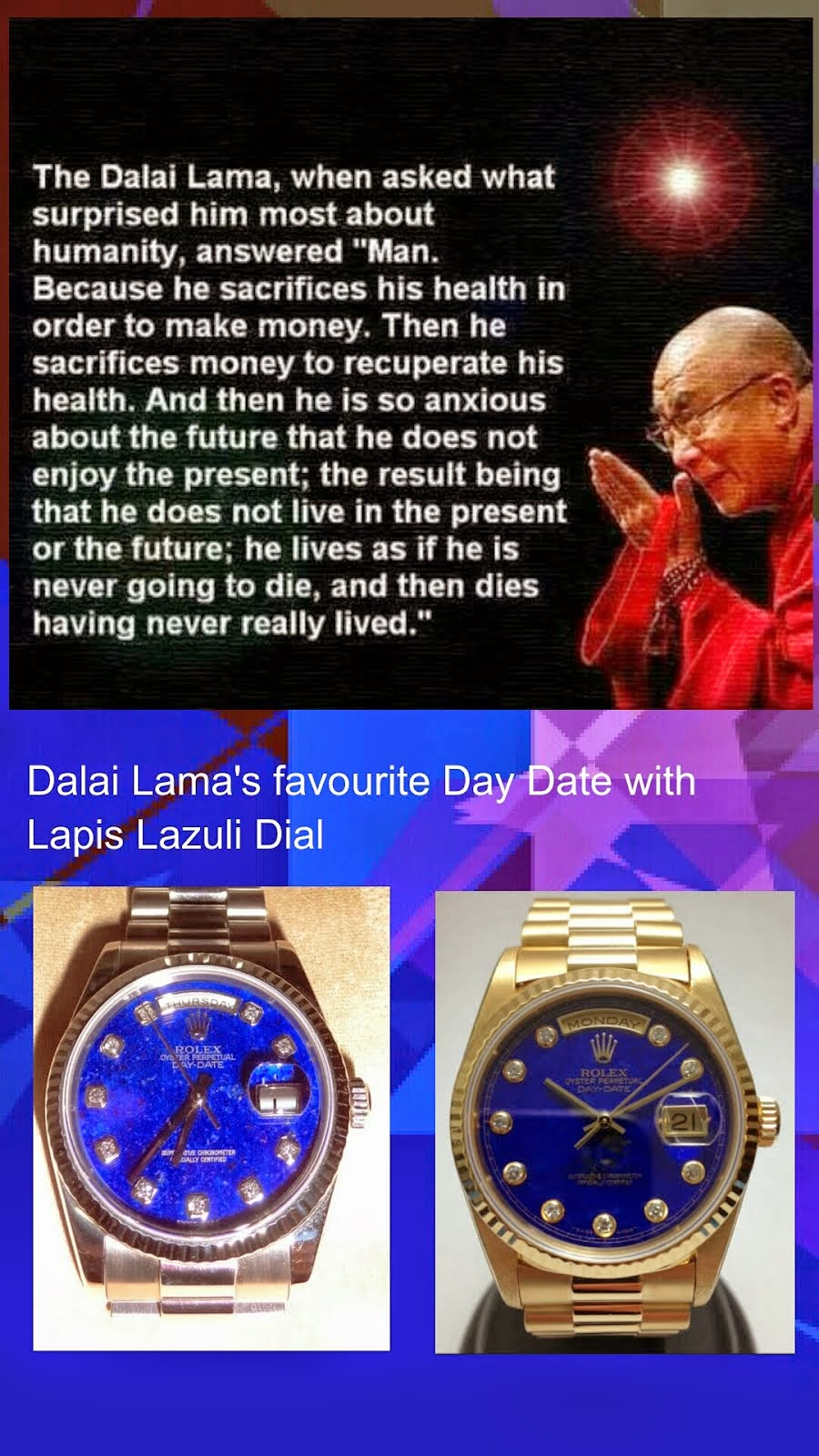 Dalai Lama's Inspirative Quote about Life!