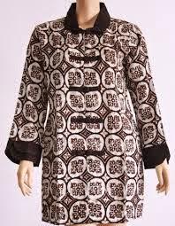 Model Baju Batik Terbaru Lengan Panjang