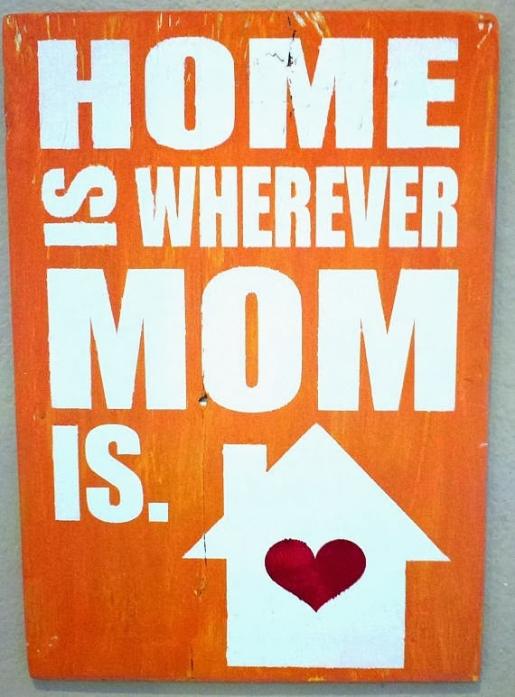 Home is where Mom is  $30 Jelly Bird Signs giveaway! @ clever nest, open world wide, ends 2/26/14 #free #subwayart #kitchen #blogversary