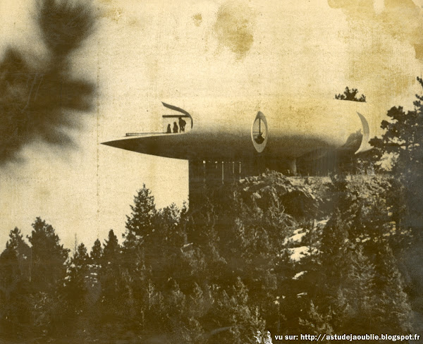 Genesee Mountain - Colorado - USA - Maison sculpture  / Sculptured House  Architecte: Charles Deaton  Construction: 1963