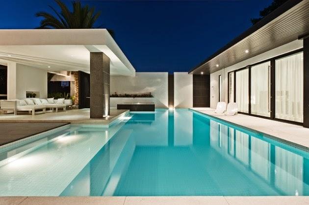 Hogares frescos 18 dise os de peque as pero hermosas piscinas for Medidas de una alberca pequena