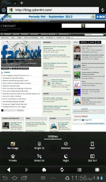 Cyber4rt Web Browser for Android