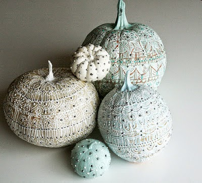 Amazing ways to glamorize your pumpkins and use them as decor this fall.