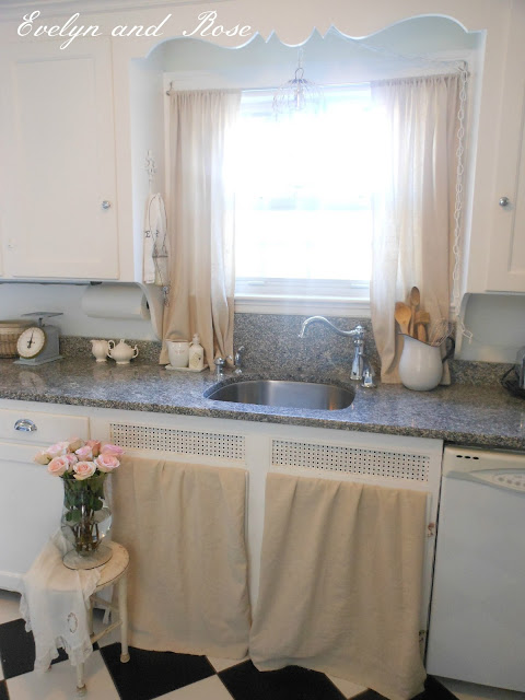 Evelyn and Rose: Kitchen is Painted!