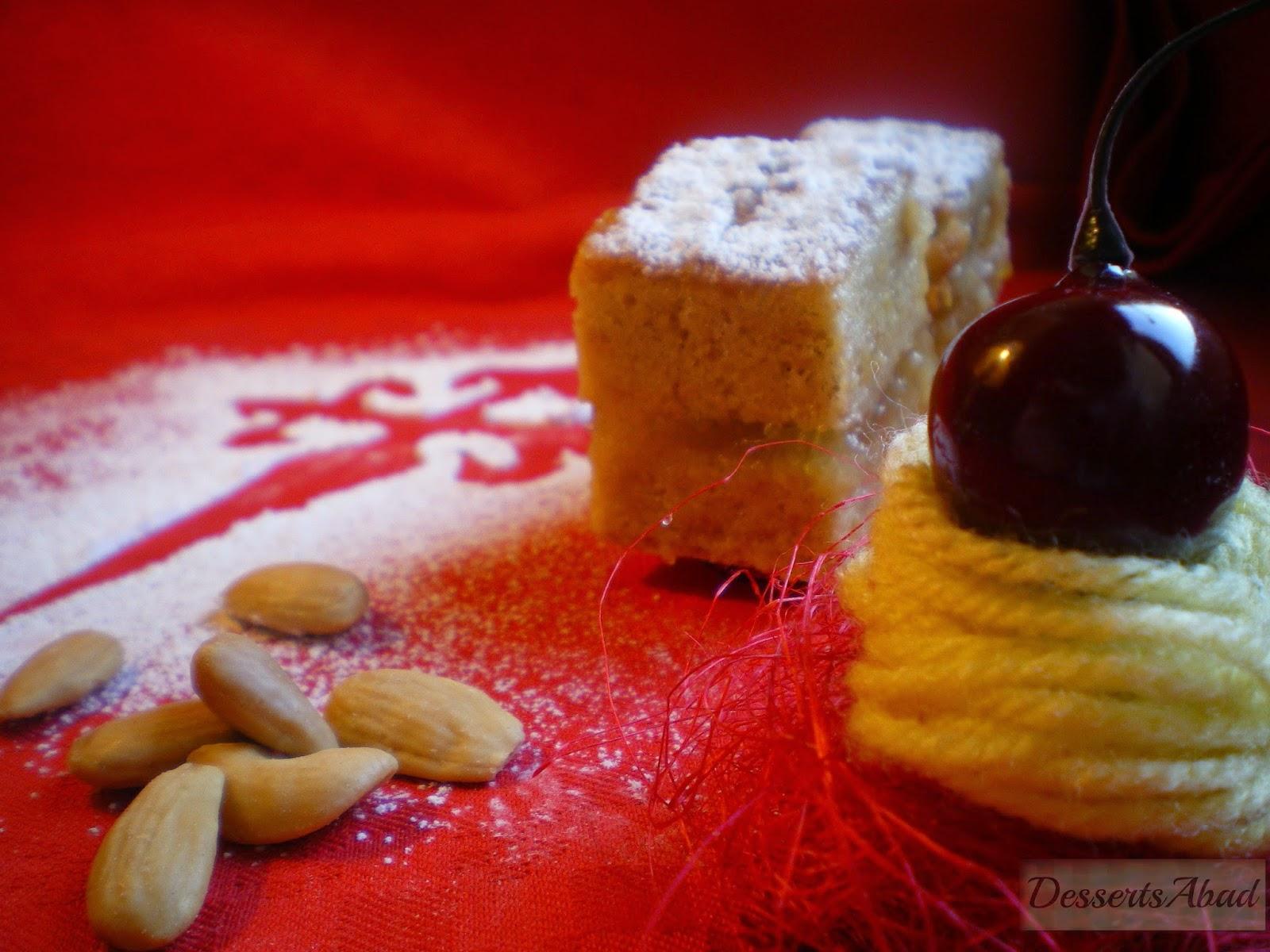Pastelitos de Torta compostelana con cidra