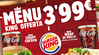 buoni sconto stampabili Burger King