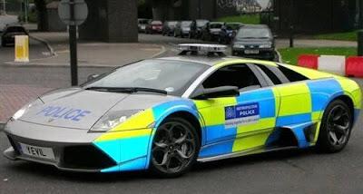 Lamborghini-Murcielago-Police-Car-Silver