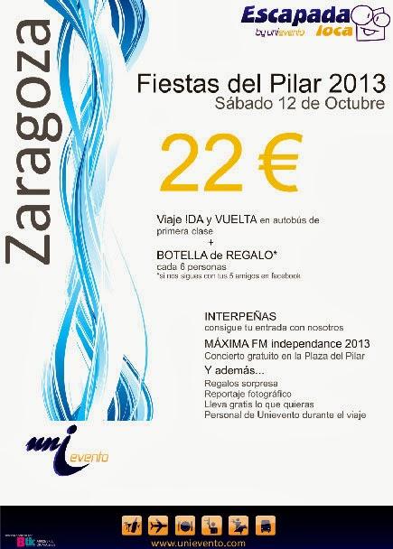 Viaje al Pilar 22 €