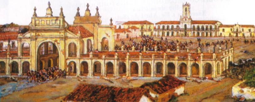 YO EN SALA DE 5: ¿CÓMO ERA COMPRAR EN 1810?