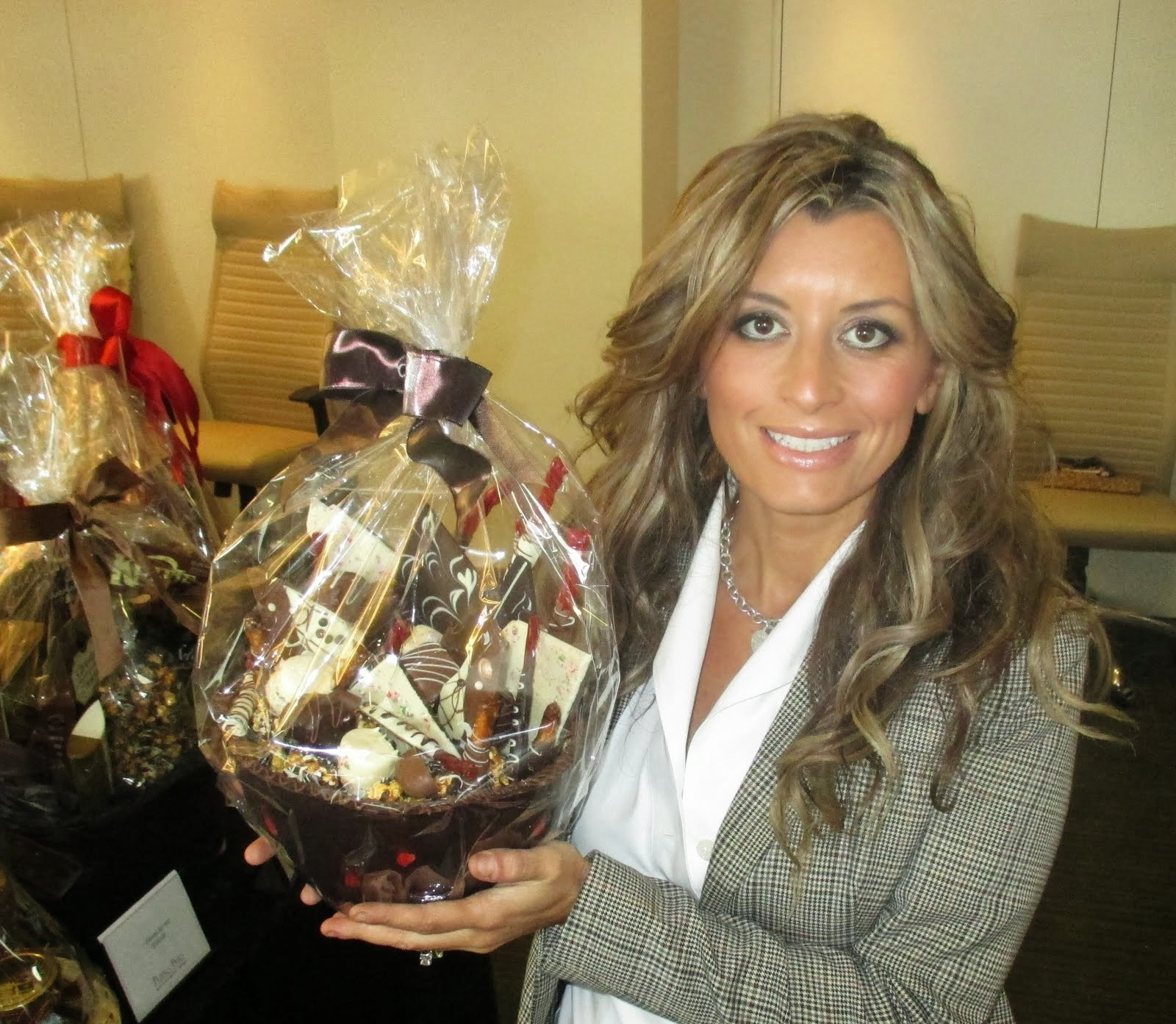 2013 Basket Launch - Chocolate Basket courtesy of Peter & Paul's!