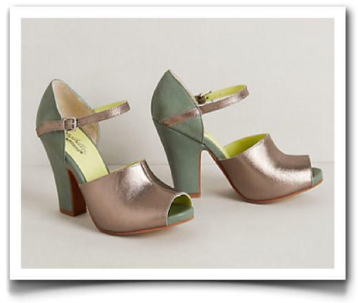 Silver Tamtam Peep-Toes by Seychelles