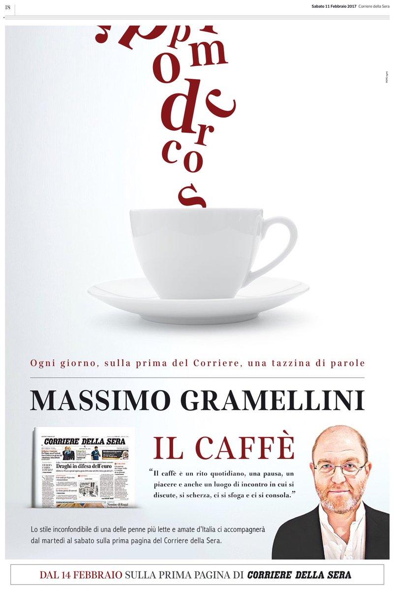 IL CAFFÈ di M. Gramellini - Corriere della sera