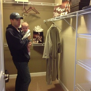 Model Home  Master Walk In Closet #1