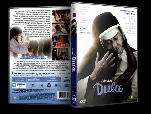 Capa DVD Irmã Dulce