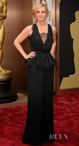 academy awards, 2014, best dressed, worst dressed, red carpet, arrivals, oscars, julia roberts, givenchy