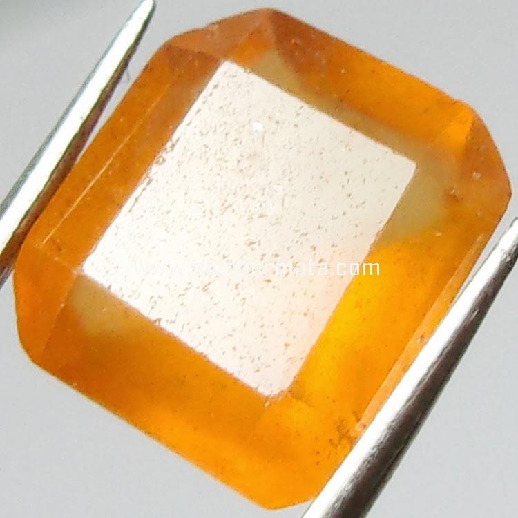 Batu Permata Hessonite garnet - 23A06