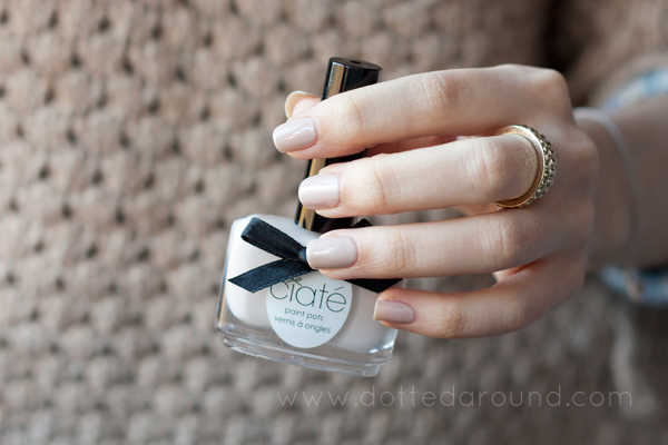 Ciaté cookies and cream nail polish