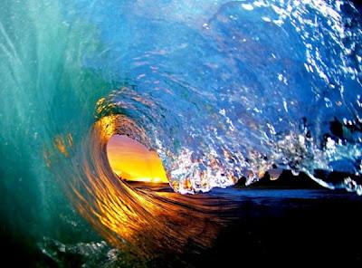 las aguas marinas Olas+de+agua+transparente++