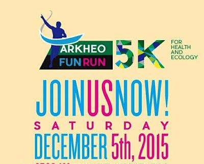 Arkheo Fun Run 2015 Ragunan Jakarta, lomba lari di kebun binatang ragunan