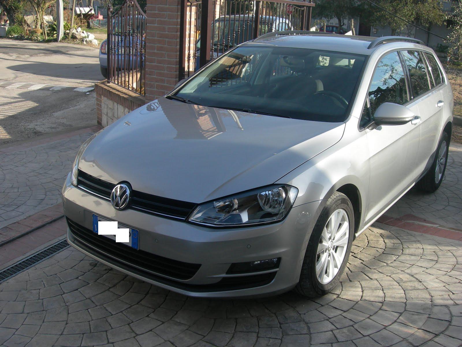 VW GOLF 7 1.6 TDI 110 CV ANNO 2015 DSG CAMBIO AUTOM- 80.000KM VARIANT SW PREZZO 16.000,00 EURO